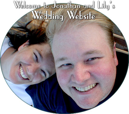 Welcome to Jonathan and Lily's Wedding Website